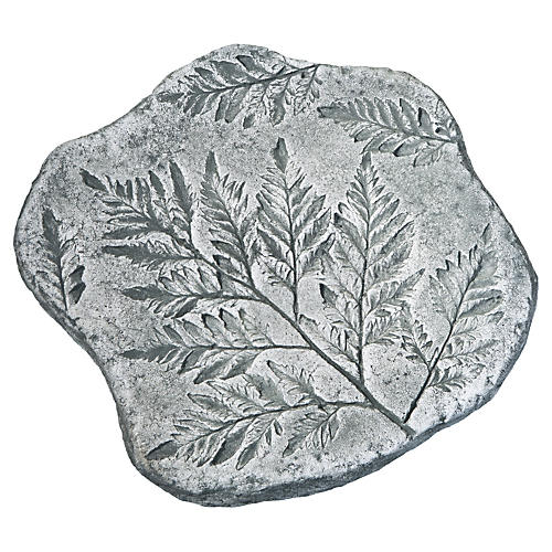 "14"" Fossil Fern Stepper, Alpine Stone"