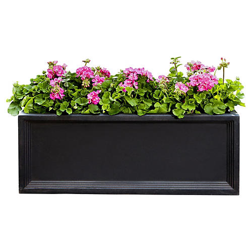 Denbigh Window Box, Onyx Black