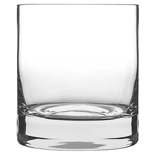 S/4 Classic Double Old-Fashioned Glasses