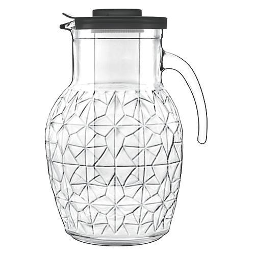 Prezioso Glass Pitcher, Clear