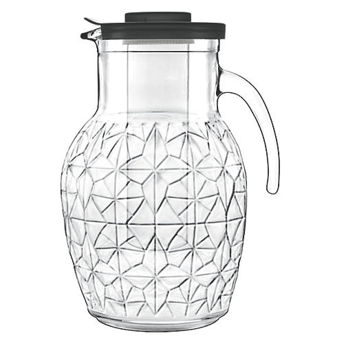Prezioso Glass Pitcher, Clear