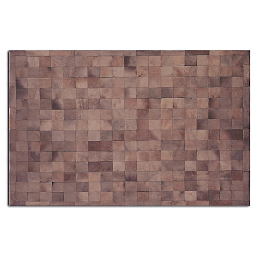Bess Hide Rug, Chocolate