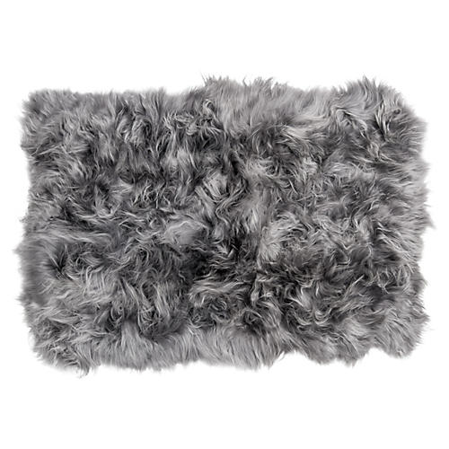 4'x6' Icelandic Long Haired Sheepskin