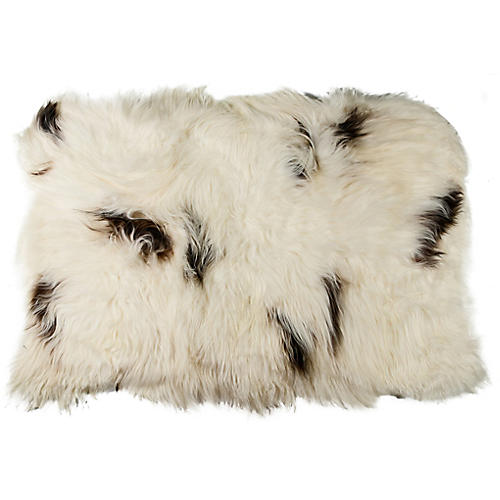4'x6' Icelandic Sheepskin, White