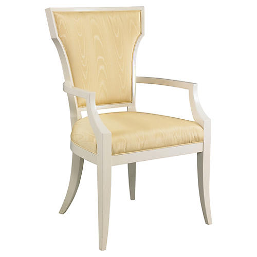 Langley Armchair, Gold