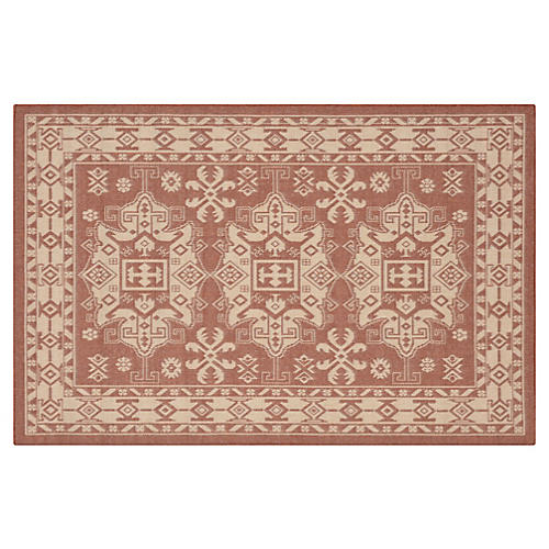 Taos Outdoor Rug, Terracotta