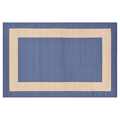 Newport Outdoor Rug, Marine Blue