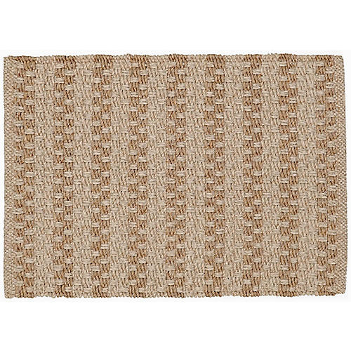 Miral Outdoor Rug, Natural