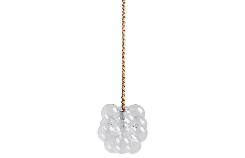 Petite Bubble Pendant, Natural