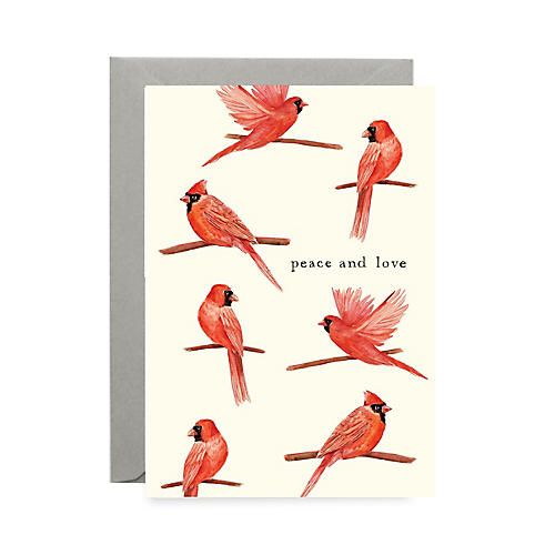 S/8 Red Robin Note Cards