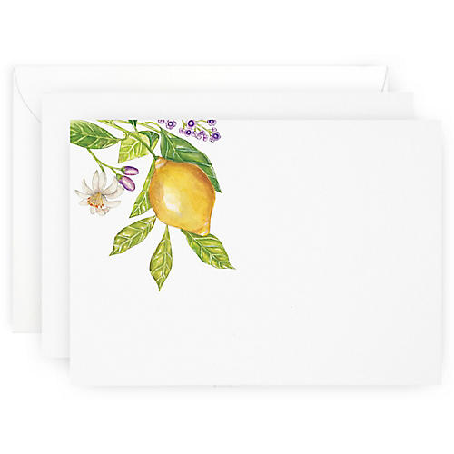 S/10 Lemon Branch Note Cards