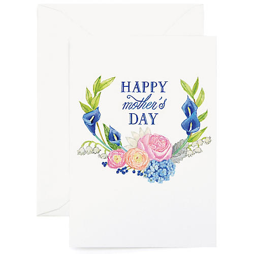 S/8 Floral Mother's Day Greeting Cards