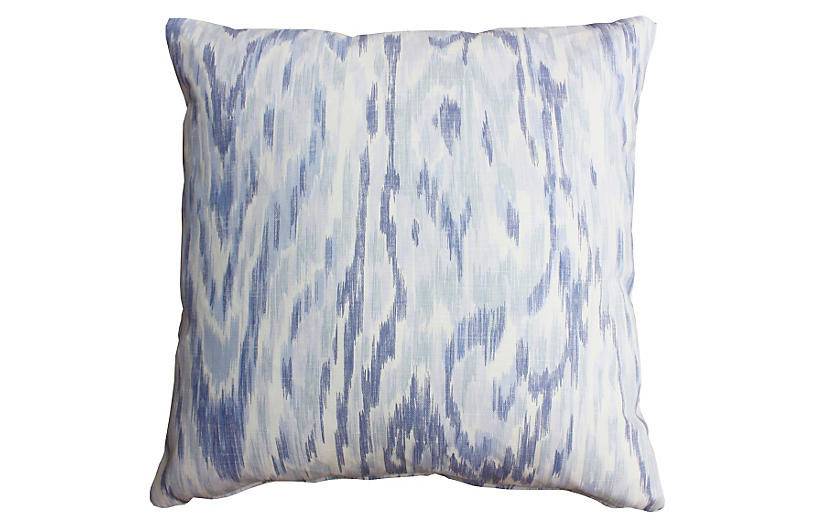 Cascade 20x20 Cotton Pillow, Purple