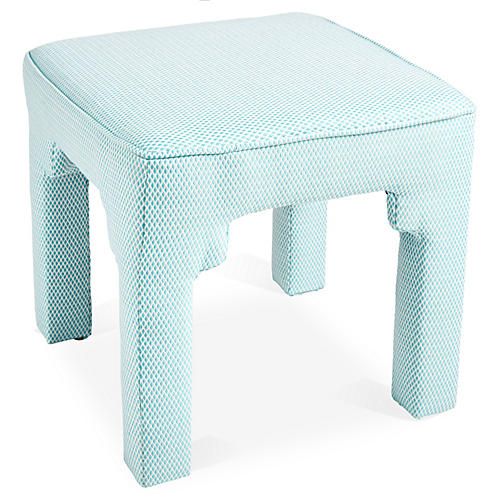 Hicks Stool, Teal