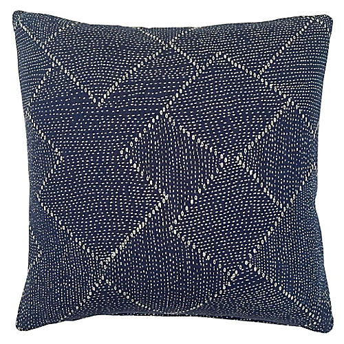 Corinth 20x20 Pillow, Indigo