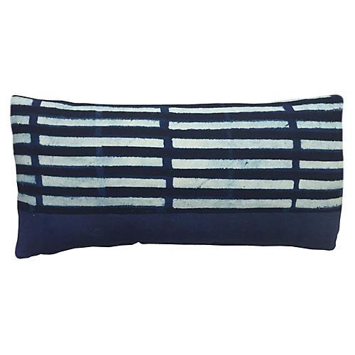 Janu 14x28 Lumbar Pillow, Indigo