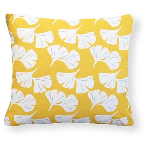 Catalina 20x20 Outdoor Pillow, Yellow