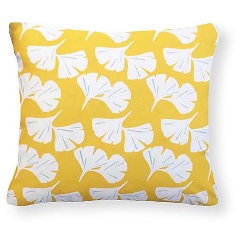 Catalina 20x20 Outdoor Pillow, Yellow
