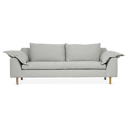 Clark Sofa, Gray Crypton