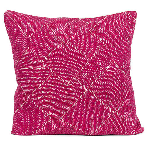 Corinth 20x20 Pillow, Pink
