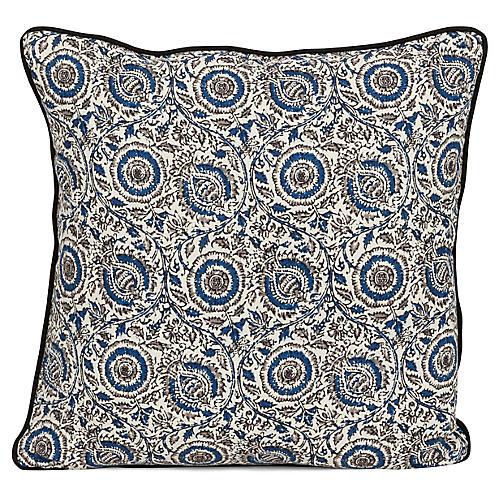 Rima 20x20 Pillow, Blue
