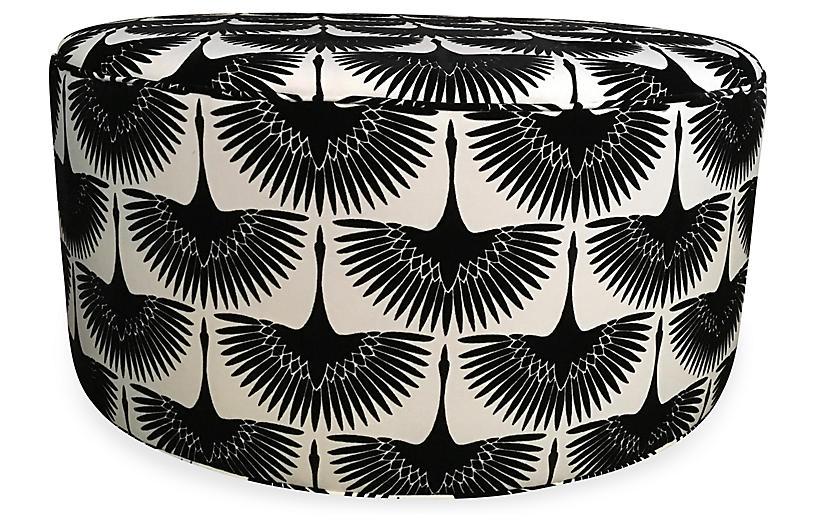 Devi Ottoman, Black/White