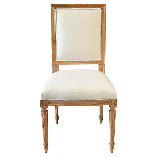 Bienville Side Chair, Natural