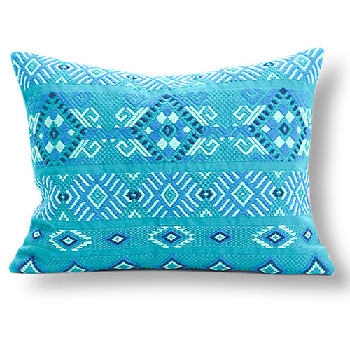 Chichi Turquoise Pillow
