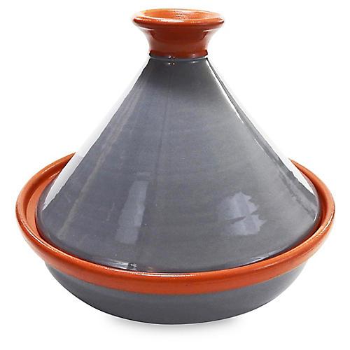 Ceramique Tagine, Gray/Orange