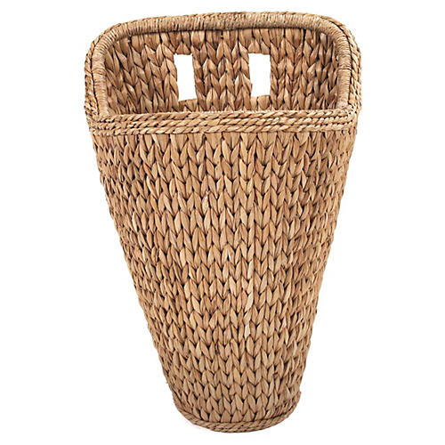 Sweater-Weave Wall Basket