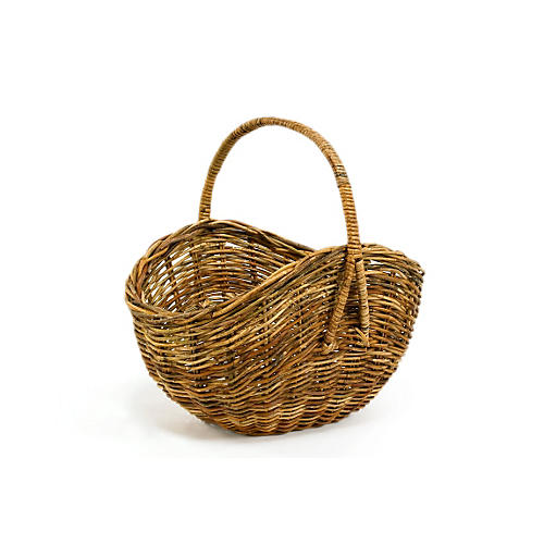 Dakota Flower Gathering Basket
