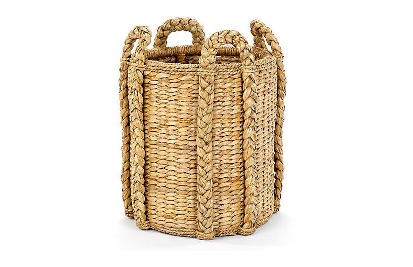 Sweater-Weave Kindling Basket, 20