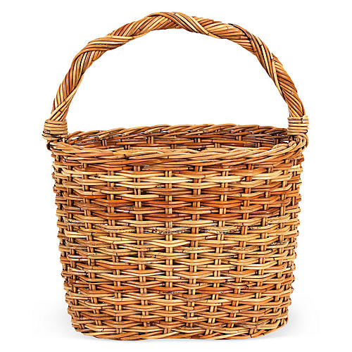 French Country Gathering Basket