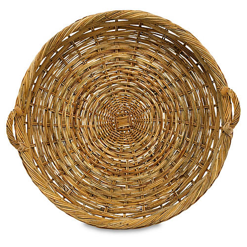 French Country Round Tray, 32""