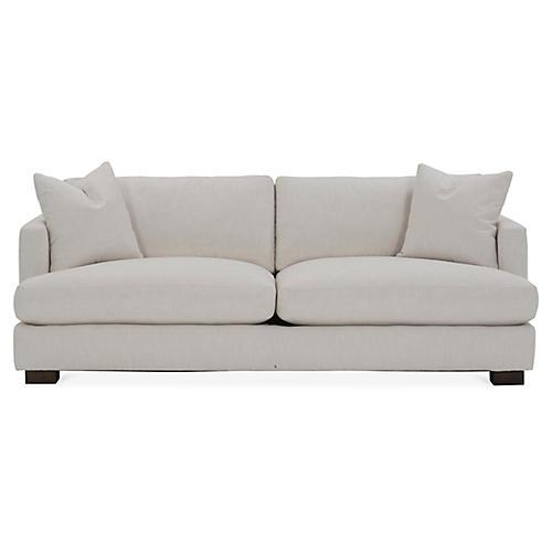 Hudson Sofa, Ivory Crypton