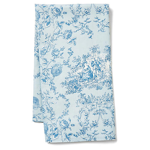 Princesse Tea Towel, French Blue
