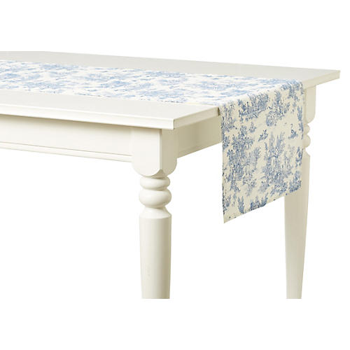 Indiennes Runner, French Blue