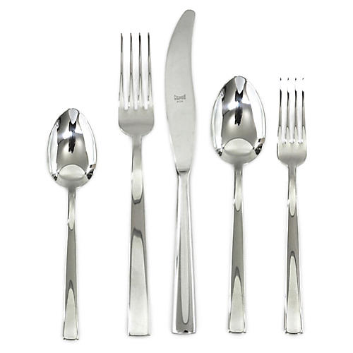 5-Pc Levantina Place Setting, Silver