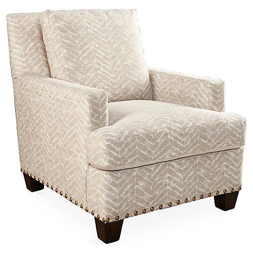 Chance Club Chair, Sand