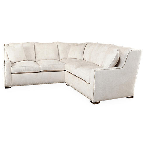 "Trezza 98"" Sectional, Sand"