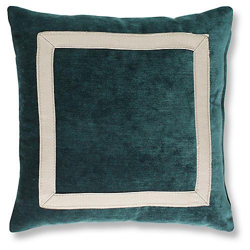 Vancott 19x19 Pillow, Peacock