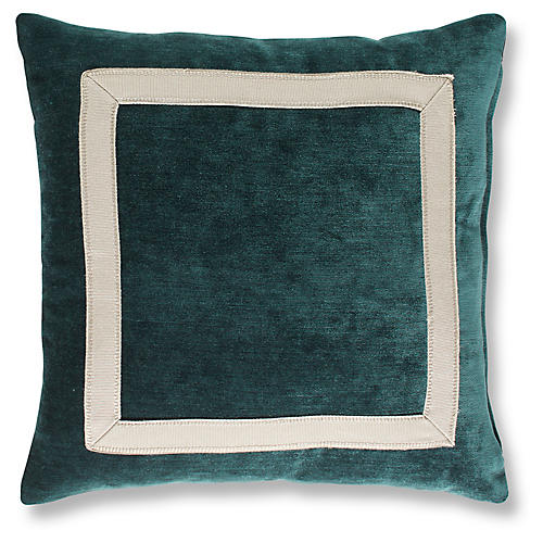 Vancott 19x19 Pillow, Peacock