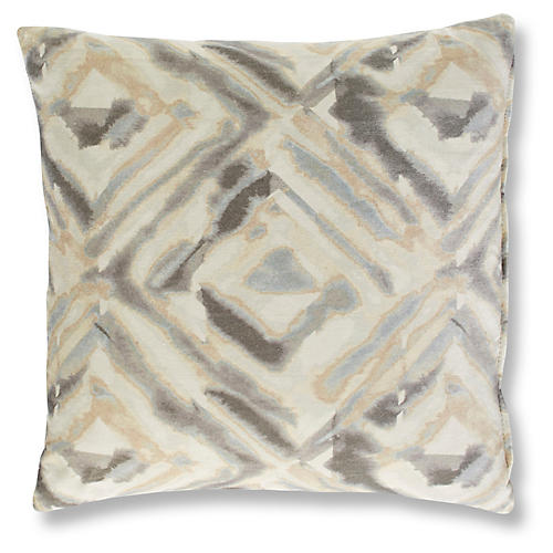 Torres 19x19 Pillow, Platinum