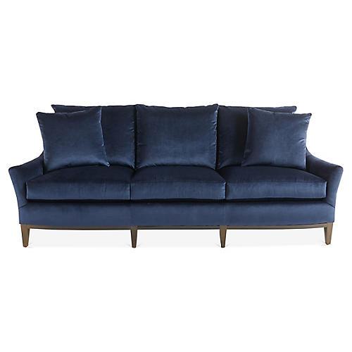 McCord Sofa, Midnight Velvet