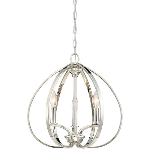 Tilbury 3-Light Pendant