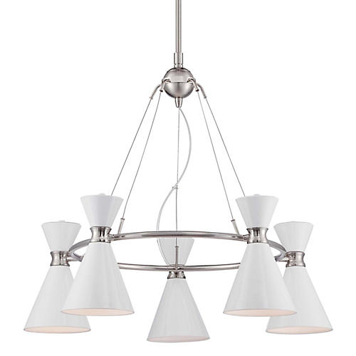 Conic 5-Light Mini Chandelier
