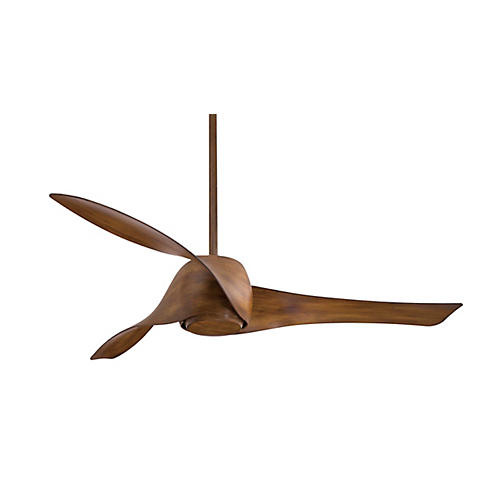 Aire Artemis Ceiling Fan Light Fixture, Koa
