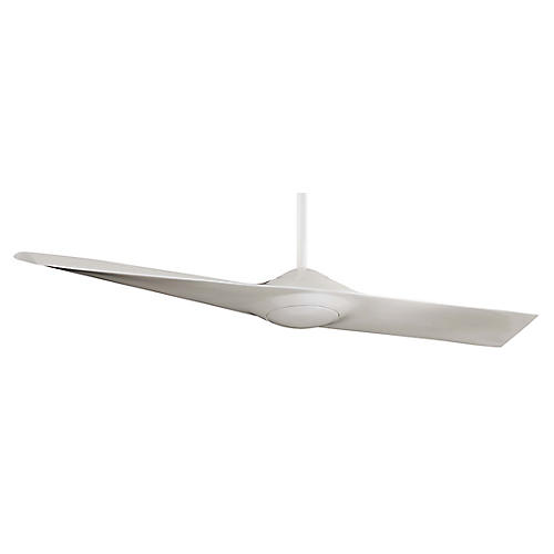 Aire Wing Ceiling Fan, White