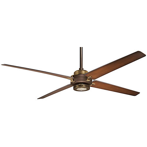 Aire Spectre Ceiling Fan Light Fixture, Bronze