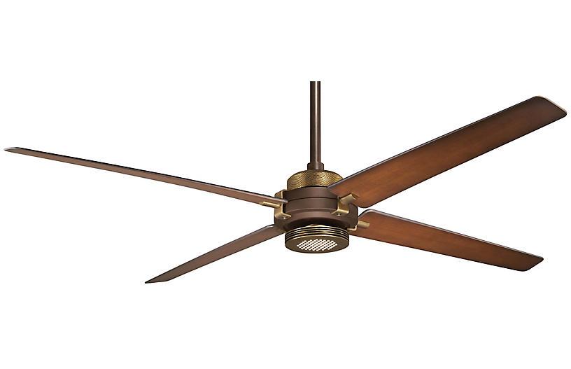 Aire Spectre Ceiling Fan Light Fixture, Bronze